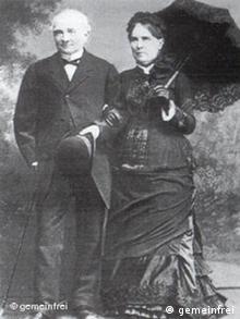 Людвиг Кноп и его супруга Луиза