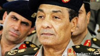 Defense Minister Hussein Tantawi