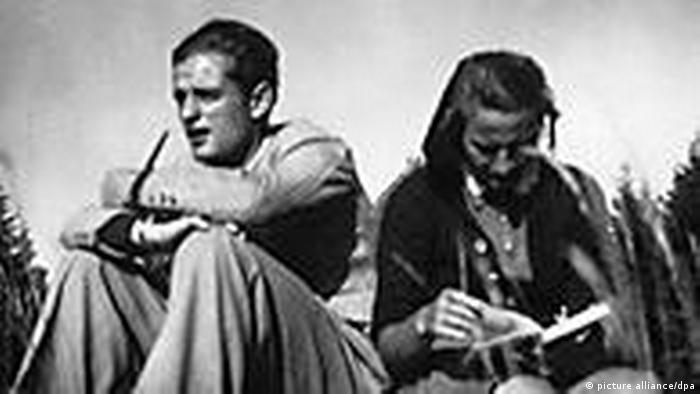 Shophie y Hans Scholl en una imagen de archivo.