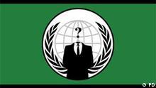 Hacker Gruppe Anonymous LOGO