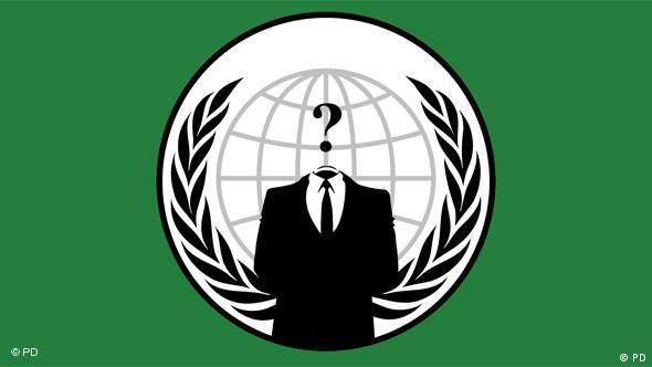 Flash-Galerie Hacker Gruppe Anonymous LOGO
