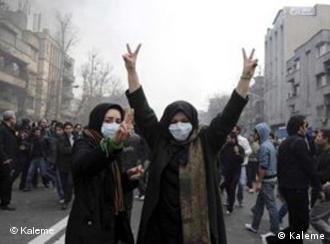 صحنهای از تظاهرات ۲۵ بهمن ۱۳۸۹ در تهران