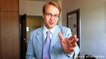 Jens Weidmann, the new Bundesbank chief