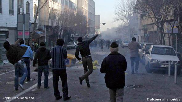 Iran Teheran Protest Demonstration Opposition