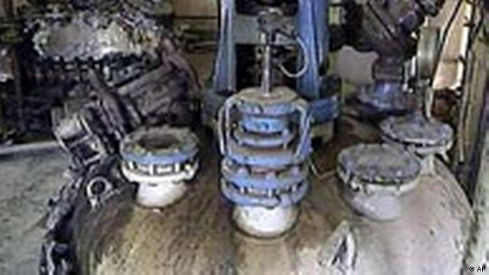 Chemieanlage in Irak (AP)