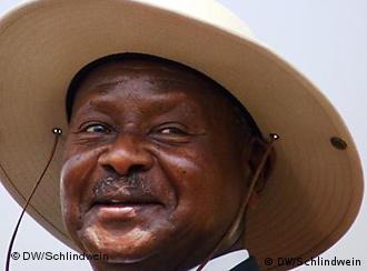 Präsident Museveni (Foto: DW)