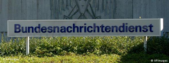 NO FLASH Bundesnachrichtendienst