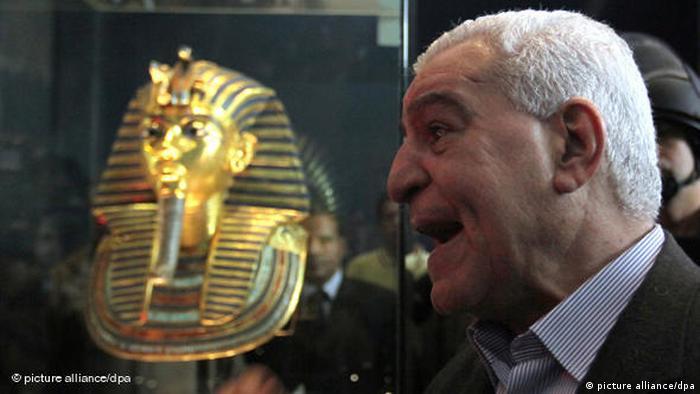 Flash-Galerie Ägyptisches Museum Kairo Vermisste Artefakte