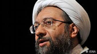Sadegh Amoli Laridjani Laridschani, Larijani Chef der Justiz Judikative der Islamischen Republik Iran