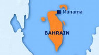Karte von Bahrain (Grafik: DW)