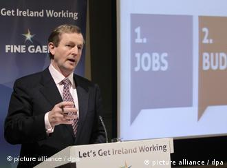 Fine Gael Chef Enda Kenny (Foto: picture-alliance/ dpa)