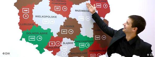 Після реформи в Польщі замість 49 воєводств стало 16