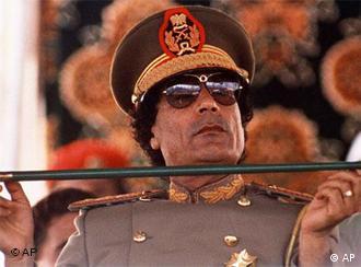 Deposed Libyan leader Moammar Gadhafi