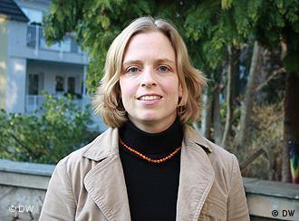Annette von Alemann (Foto: DW/ Alexandra Scherle)