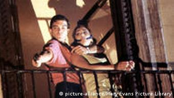 Filmszene aus La Ley del deseo Das Gesetz der Begierde 1987 von Pedro Almodovar
