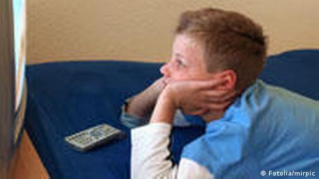 Symbolbild Kinder Fernsehen (Fotolia/mirpic)
