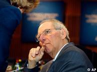 ولفگانگ شویبله، وزیر دارایی آلمان