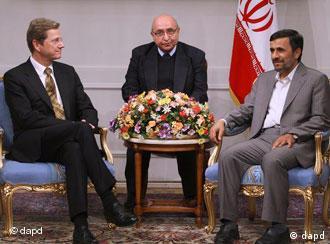 وستروله- احمدینژاد، دیداری که آلمان را به تاکید بر مواضع پیشین خود واداشت