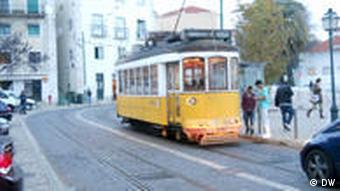 WHAT: Lissabon Tram WHERE: Lisbon, Portugal PHOTOGRAPHER: Andy Valvur DATE: February 09, 2011