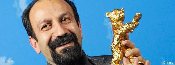 اصغر فرهادی پیش از این جایزه خرس طلایی و نقرهای را در جشنواره برلیناله برده بود