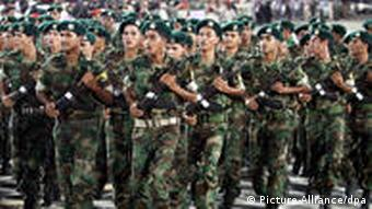 Libyen Soldaten
