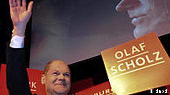 Former SPD general secretary Olaf Scholz