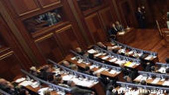 The Kosovan parliament