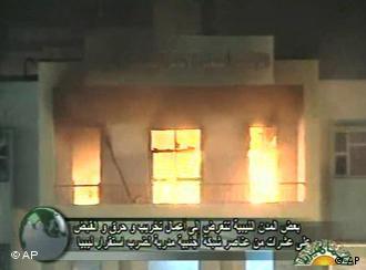Во Либија горат објекти