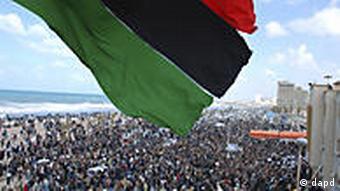 Libyen Unruhen Proteste in Bengasi