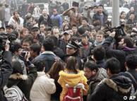 """2011年2月中国网民呼吁""""茉莉花抗议"""""""