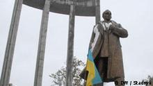 Stepan Bandera Denkmal in Lviv