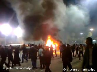 Anti-Gaddafi-Demonstranten in Tripolis (Foto: dpa)
