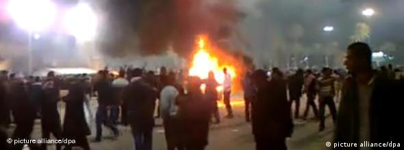 Libyen Unruhen Gaddafi Tripolis 20.02.2011 NO FLASH