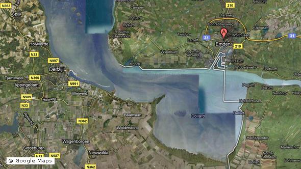 Google error puts German harbor in Dutch waters | Europe| News and ...
