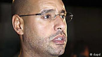 Libyen Saif al Islam Gadhafi in Tripolis