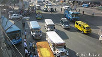 Buses cause a lot of the chaos on the streets, as they have to constantly stop and go