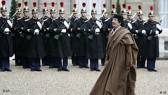 Flash-Galerie Libyen Muammar al Gaddafi Staatsbesuch in Frankreich Paris