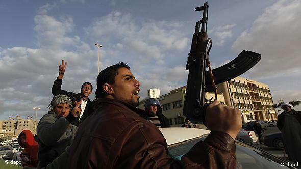 Flash-Galerie Libyen Aufständische haben die Macht in Tobruk