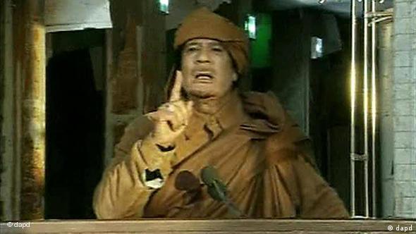 Libyan leader Moammar Gadhafi still refuses to step down