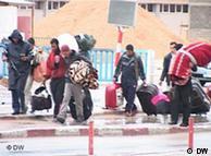 لیبی: تنها راه شهروندان بیطرف، فرار