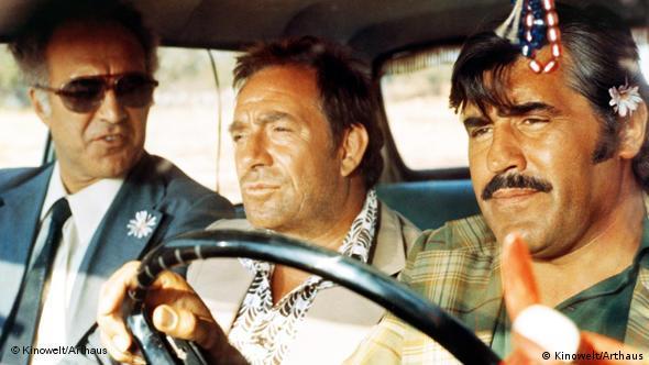 Michel Piccoli, Ugo Tognazzi und Mario Adorf in einer Szene des Films 'Der dritte Grad' (Foto: Kinowelt/ Arthaus)