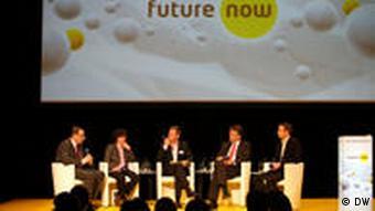 Diskussion zum Forschungsstandort Deutschland (Foto: DW)