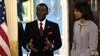 President of Equatorial Guinea, Teodoro Obiang Nguema Mbasogo