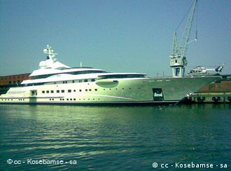 The Pelorus yacht