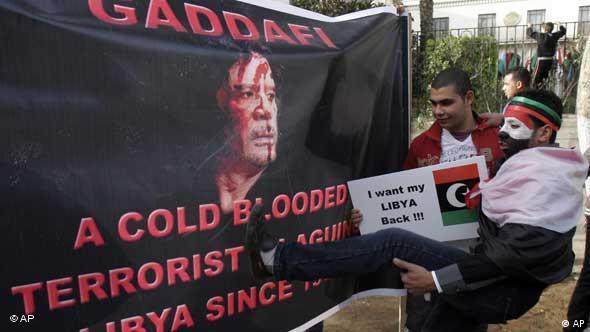 Libyen / Gaddafi / Kairo