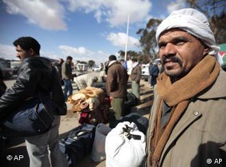 Egyptian refugees