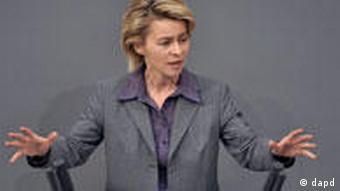 Labor Minister Ursula von der Leyen