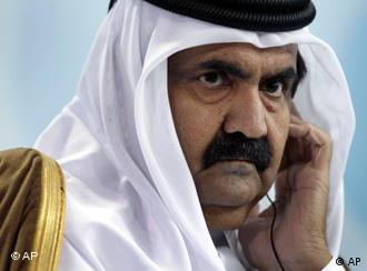 شیخ حمد بن خلیفه آل ثانی، امیر قطر