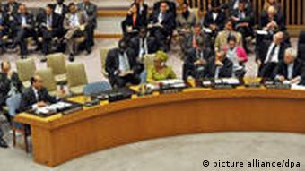Discussion of the Libyan situation in the Security Council