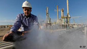 oil worker in Libya